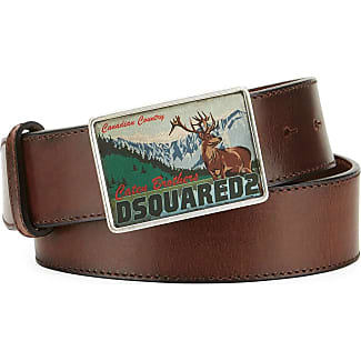 Womens Belts On Sale in Outlet, Beige, Genuine Leather, 2017, 36 inches - 90 cm Dsquared2