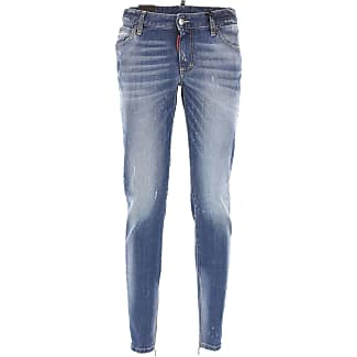 Jeans On Sale, Cool Girl Jean, Denim Blue, Cotton, 2017, 22 24 26 28 Dsquared2