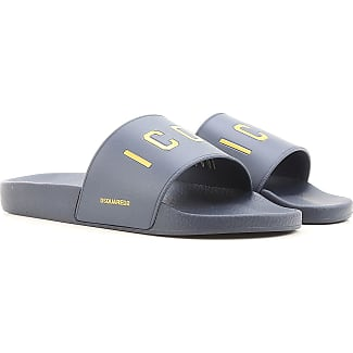 Sandals for Men On Sale, navy, Leather, 2017, 10.5 6.5 7 8 9 9.5 Dsquared2