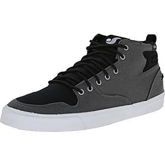 DVS Apparel Westridge Steel Toe, Chaussures de Skateboard Homme, Noir (Black Leather Ferguson), 44 EU
