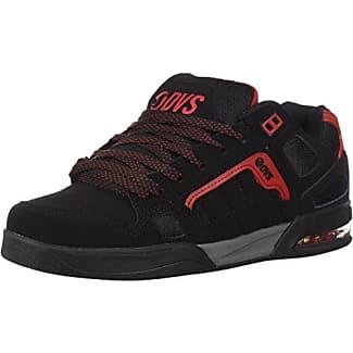 DVS Celsius CT, Chaussures de Skateboard Hommes, Noir (Black Charcoal Red Nubuck Deegan 005), 44 EU