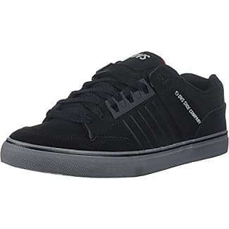 DVS Celsius, Chaussures de Skateboard Homme, Gris (Charcoal Black Nubuck Deegan), 42 EU