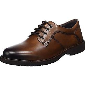 Ecco Vitrus Aquet, Zapatos de Cordones Brogue para Hombre, Marrón (Amber), 45 EU