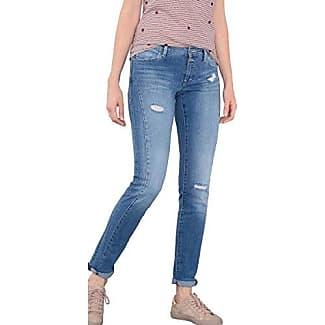 EDC by Esprit 086cc1b010, Jeans Mujer, Azul (Blue Medium Wash), W26/L32 (Talla del Fabricante: 26/32)