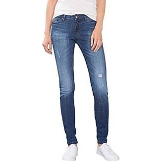 EDC by Esprit 996cc1b921, Jeans Ajustados para Mujer, Negro (Black Rinse 910), W25/L32