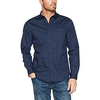 107cc2f008, Camisa para Hombre, Azul (Navy 400), XX-Large EDC by Esprit