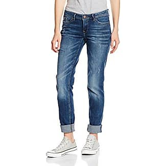 EDC by Esprit mit schmalem Bein, Jeans Mujer, Azul (Blue Dark Wash 901), W25/L34