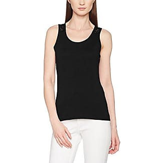 EDC by Esprit 047cc1k052, Camiseta sin Mangas para Mujer, Negro (Black), 38 (Talla del Fabricante: Medium)