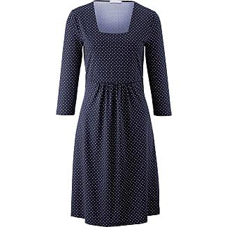 Kleider blau punkte