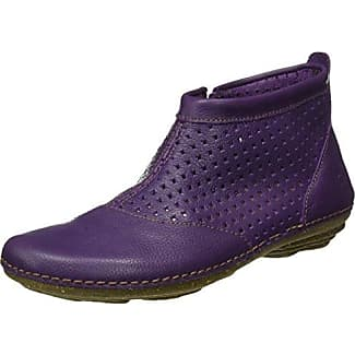 El Naturalista N389 SOFT GRAIN PURPLE/ TORCAL Lilla - Chaussures Low boots Femme