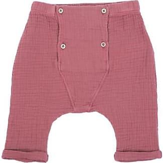 Sale - Chambray Harem Trousers with Pockets - Emile et Ida Emile Et Ida
