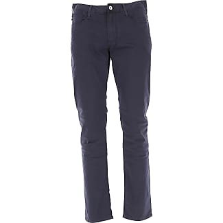 Pants for Men On Sale, Charcoal Grey, Cotton, 2017, 30 31 33 34 36 Emporio Armani
