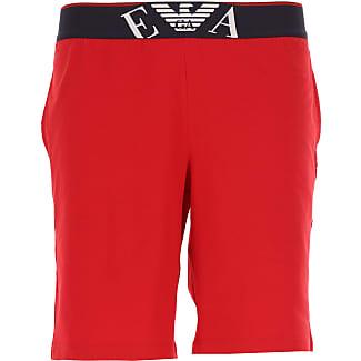 Shorts for Men On Sale, Black, Cotton, 2017, L M S XL Emporio Armani