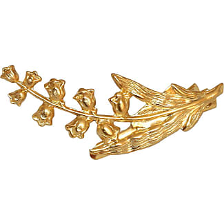 Epona Valley Astrid 14K Plated-Gold Petal Bobby Pins, Set of 5