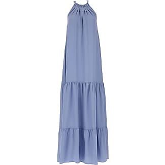 Dress for Women, Evening Cocktail Party On Sale, Lavender, Silk, 2017, 10 8 Erika Cavallini Semi Couture