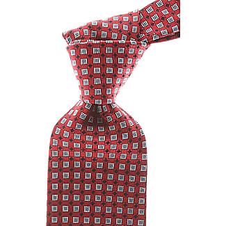 Ties On Sale, Oxblood Red Melange, Silk, 2017, one size Ermenegildo Zegna
