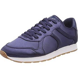 Esprit AMU Lace Up, Zapatillas para Mujer, Azul (Navy), 38 EU