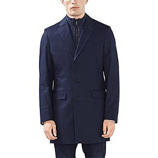 027ee2g031, Abrigo para Hombre, Azul (Navy), Medium (Talla del Fabricante: 48) Esprit