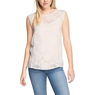 Esprit 997eo1k803, Camiseta para Mujer, Blanco (Off White), 34 (Talla del Fabricante: X-Small)