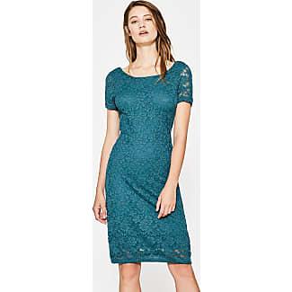 Blauwe kanten jurk esprit