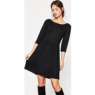 Esprit lange zwarte jurk
