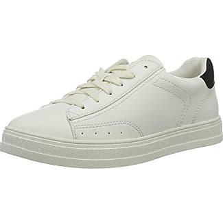 Esprit Astro Lace Up, Zapatillas para Mujer, Blanco (White), 42 EU