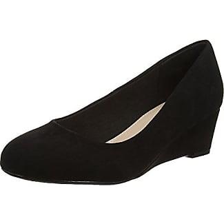 Alicia - Zapatos de Tacón con Punta Cerrada Mujer, Negro (Black), 39 EU EVANS