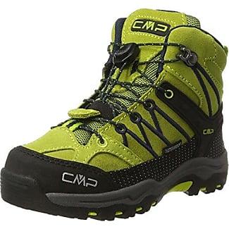 Rigel Mid WP, Zapatos de High Rise Senderismo Unisex Adulto, Verde (Lime Green-Graffite), 34 EU F.lli Campagnolo