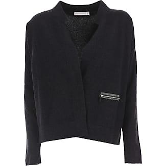 Sweater for Women Jumper On Sale, Anthracite, Virgin wool, 2017, Universal size Fabiana Filippi