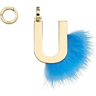 Fendi necklaces shop up to 40 stylight fendi abclick u pendant charm blue aloadofball Images