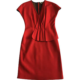 Kleid rot wolle