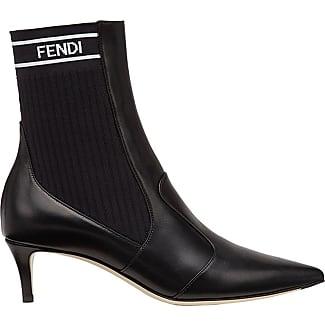 Fendi Stivali dettaglio fiocco - Black farfetch neri Pelle