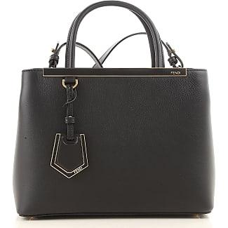 Handbags On Sale, Black, poliammide, 2017, one size Fendi