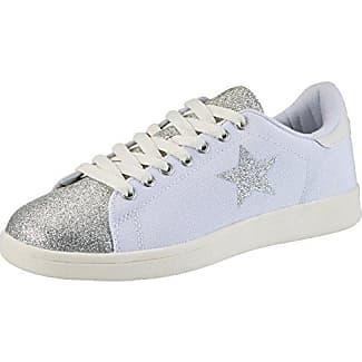 Fiorucci FEAC011, Zapatillas para Mujer, Plateado (Silver Silver), 39 EU