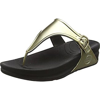 15BU0222 Kid Leather - Chanclas Mujer, Color Marrón, Talla 37 Buffalo
