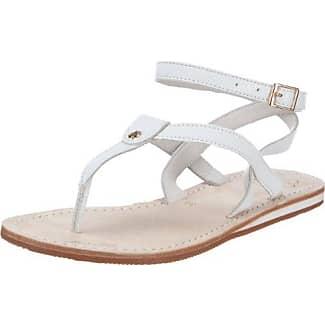 flip flop lea sling 2 10117 Damen Sandalen, Weiß (white 100), EU 38