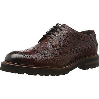 Florsheim Rumford, Zapatos de Cordones Brogue para Hombre, Marrn (Dk.Brown 04), 42 EU