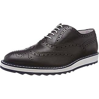 Docksteps Hombre Zapatos Brogue Negro Size: 45 EU