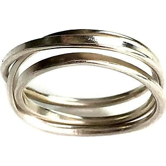 Fran Regan Jewellery Ombre Cosmic Wedding Ring 3 Tier - UK K 1/2 - US 5 3/8 - EU 51 1/4