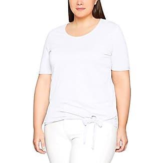 Frapp T-Shirt Rundhals 1/2 Arm, Camiseta para Mujer, Rosa (Rose Daiquiri 684), 46