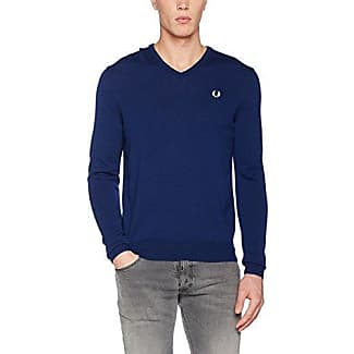 Mens Fp Classic V Neck Sweater Sweatshirt Fred Perry