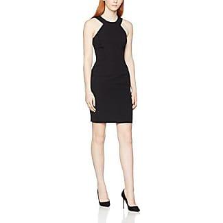 French Connection Bella Ottoman S/LSS Dress, Vestido para Mujer, Negro (Black), 34 (Talla del Fabricante: 6)