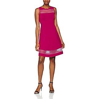 French Connection Modern Kantha Crepe Halter NK, Vestido para Mujer, Rosa (Pink), 44 (Talla del Fabricante: 16)