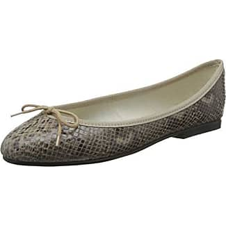India Smooth Leather - Ballerines femme, Multicolore (Multi PT124), 37French Sole
