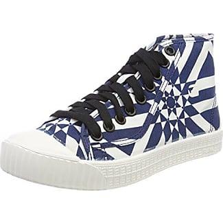 G-Star Raw Strett Slip On AOP, Zapatillas sin Cordones para Mujer, Multicolor (Milk/dk Saru Blue AOP 9280), 40 EU