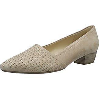 Gabor Shoes Gabor Fashion, Zapatos de Tacón para Mujer, Gris (Light Grey), 36 EU