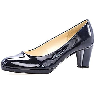 Damen Schuhe Pumps Aersoles Gr 375 UK 45 schwarz grau blau Leder neu