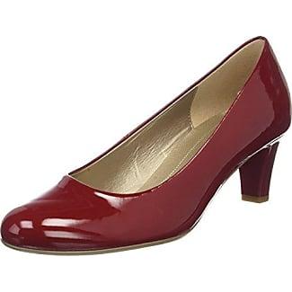 Gabor Basic, Zapatos de Tacón para Mujer, Rojo (Cherry), 37 EU Gabor