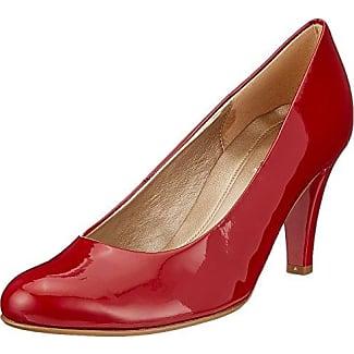 Gabor Shoes Gabor Basic, Zapatos de Tacón para Mujer, Rojo (Cherry), 42 EU