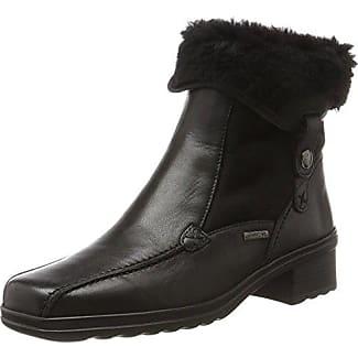 Gabor Shoes Comfort Sport, Bottes Femme, Noir (57 Schwarz Mel.), 37 EU